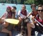 Rafting mit der Familie