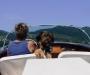 Bootfahren findet sie super