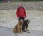 Harald mit Jule u. Beelou