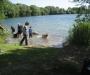 Abkühlung im See