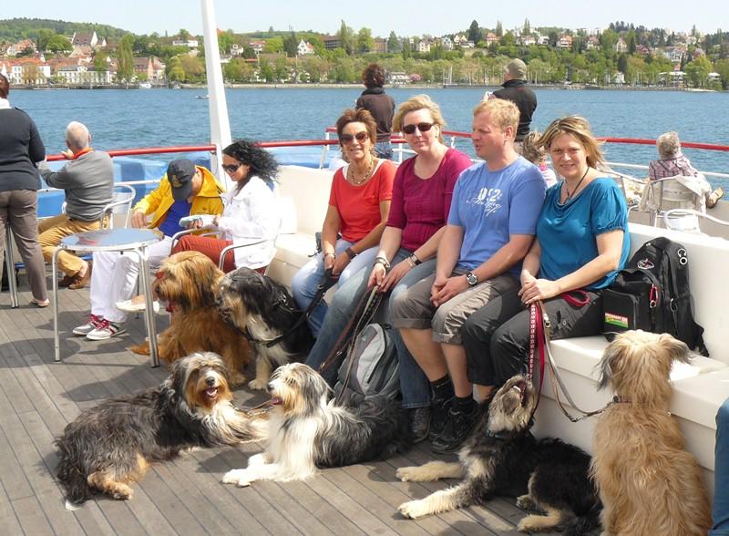 Bootsfahrt zur Insel Mainau