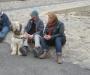 Rita u. Jörg mit Chewbacca