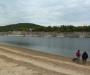 Im Hintergrund der Jachthafen v. Rehbach